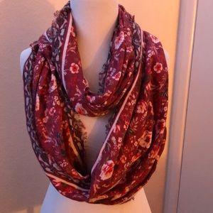 super cute floral scarf